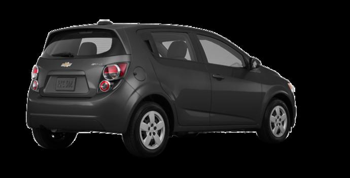 2016 Chevrolet Sonic Hatchback LS   Photo 5   Nightfall Grey Metallic