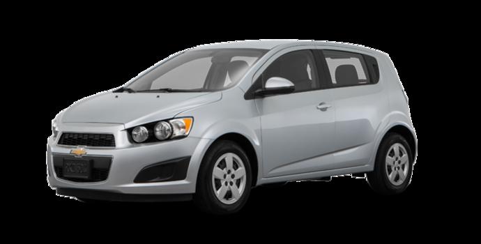 2016 Chevrolet Sonic Hatchback LS   Photo 6   Silver Ice Metallic