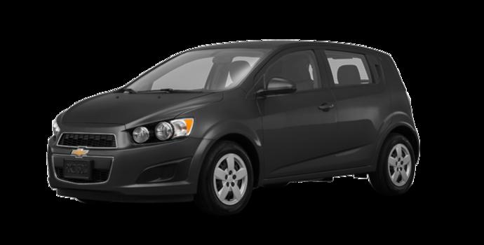 2016 Chevrolet Sonic Hatchback LS   Photo 6   Nightfall Grey Metallic