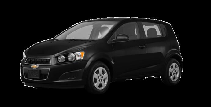 2016 Chevrolet Sonic Hatchback LS   Photo 6   Mosaic Black Metallic