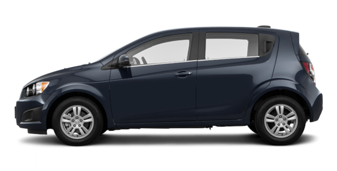 2016 Chevrolet Sonic Hatchback LT   Photo 4   Blue Velvet Metallic