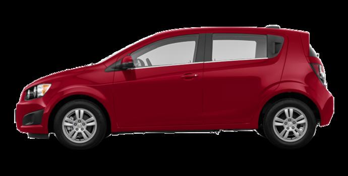 2016 Chevrolet Sonic Hatchback LT   Photo 4   Crystal Red
