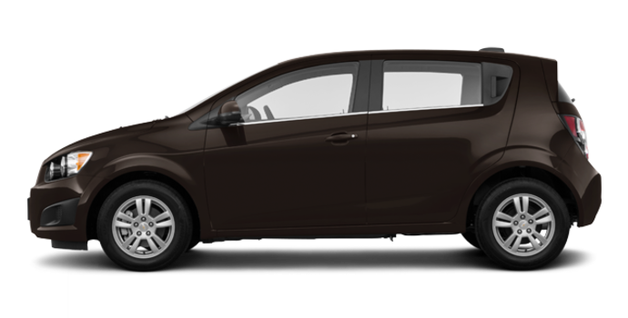 2016 Chevrolet Sonic Hatchback LT   Photo 4   Mocha Bronze Metallic
