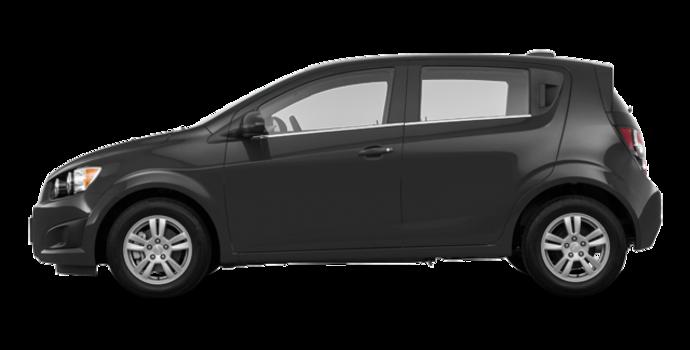 2016 Chevrolet Sonic Hatchback LT   Photo 4   Nightfall Grey Metallic