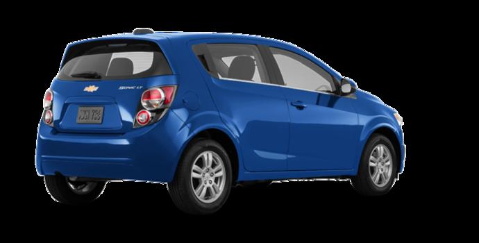 2016 Chevrolet Sonic Hatchback LT   Photo 5   Kinetic Blue Metallic