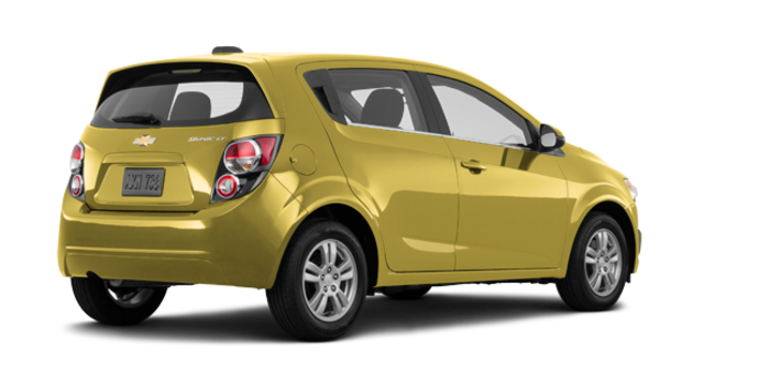 2016 Chevrolet Sonic Hatchback LT   Photo 5   Bright Yellow