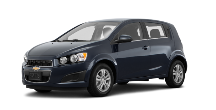 2016 Chevrolet Sonic Hatchback LT   Photo 6   Blue Velvet Metallic