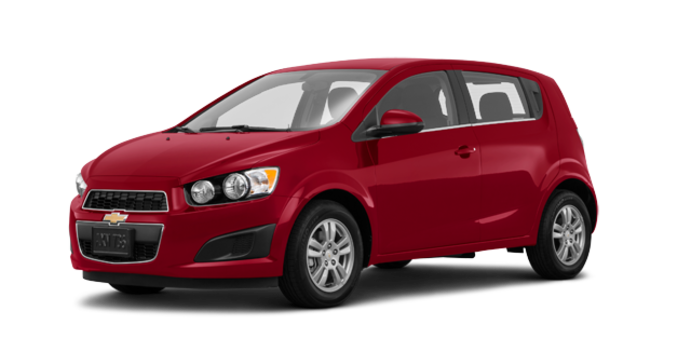 2016 Chevrolet Sonic Hatchback LT   Photo 6   Crystal Red