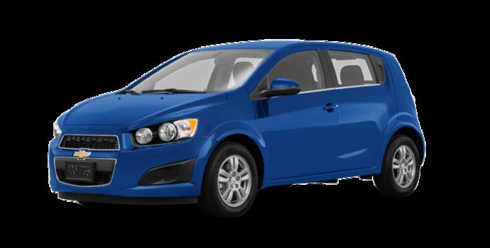 2016 Chevrolet Sonic Hatchback LT   Photo 6   Kinetic Blue Metallic