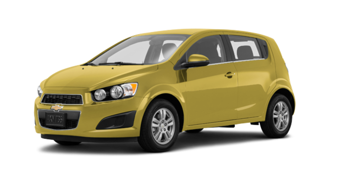 2016 Chevrolet Sonic Hatchback LT   Photo 6   Bright Yellow