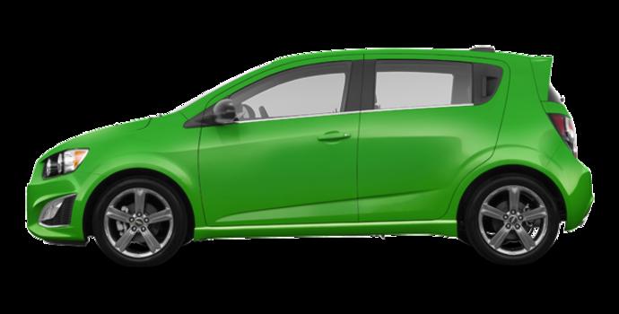 2016 Chevrolet Sonic Hatchback RS | Photo 4 | Dragon Green Metallic