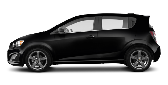 2016 Chevrolet Sonic Hatchback RS | Photo 4 | Mosaic Black Metallic