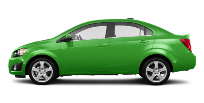 2016 Chevrolet Sonic LT | Photo 4 | Dragon Green Metallic
