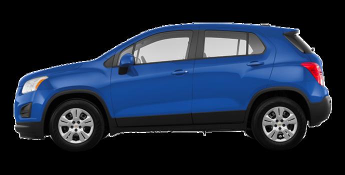 2016 Chevrolet Trax LS | Photo 4 | Blue Topaz Metallic