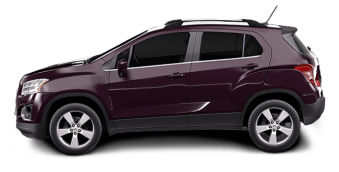 2016 Chevrolet Trax LTZ   Photo 4   Sable Metallic