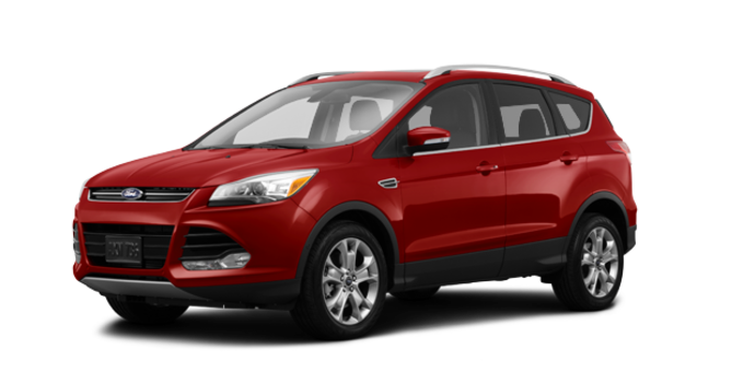 2016 Ford Escape TITANIUM | Photo 6 | Ruby Red
