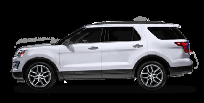 2016 Ford Explorer SPORT | Photo 4 | White Platinum