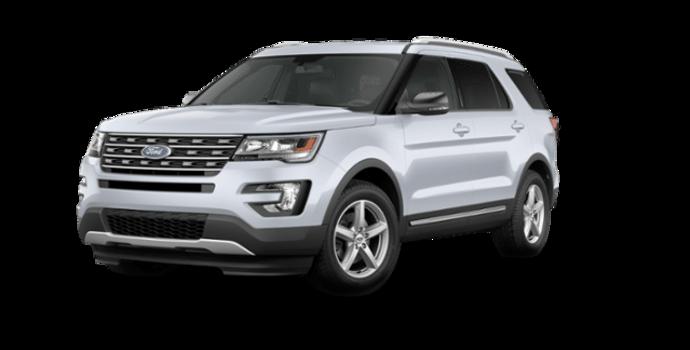 2016 Ford Explorer XLT   Photo 6   White Platinum