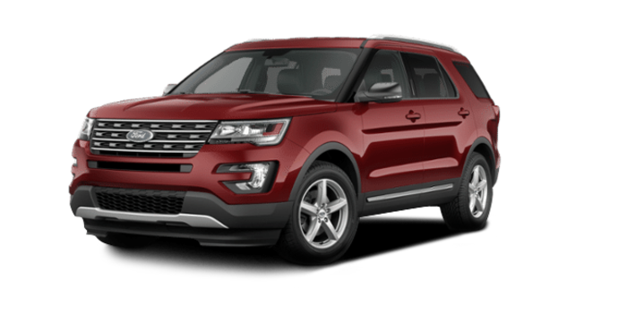 2016 Ford Explorer XLT   Photo 6   Ruby Red