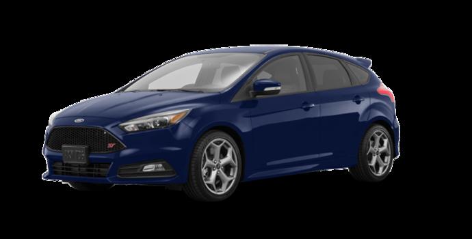 2016 Ford Focus Hatchback ST   Photo 6   Kona Blue Metallic