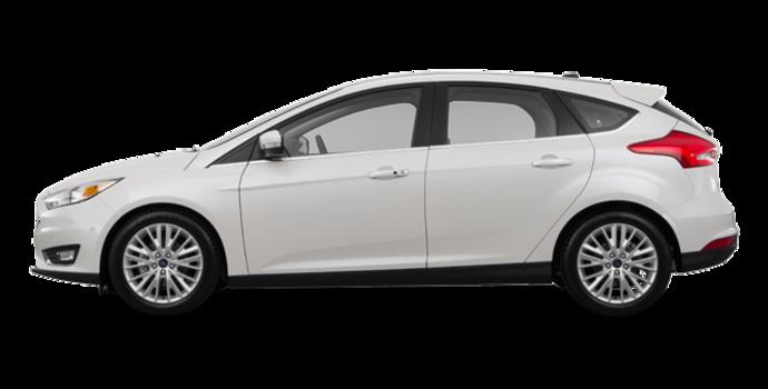 2016 Ford Focus Hatchback TITANIUM | Photo 4 | White Platinum