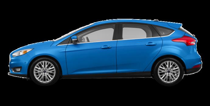 2016 Ford Focus Hatchback TITANIUM | Photo 4 | Blue Candy Metallic