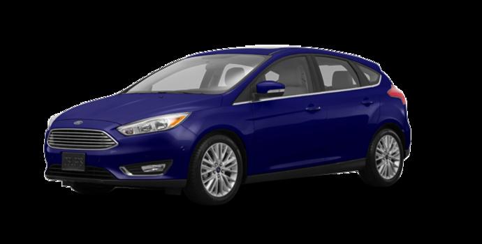 2016 Ford Focus Hatchback TITANIUM | Photo 6 | Kona Blue Metallic