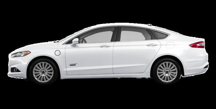 2016 Ford Fusion Energi SE | Photo 4 | White Platinum
