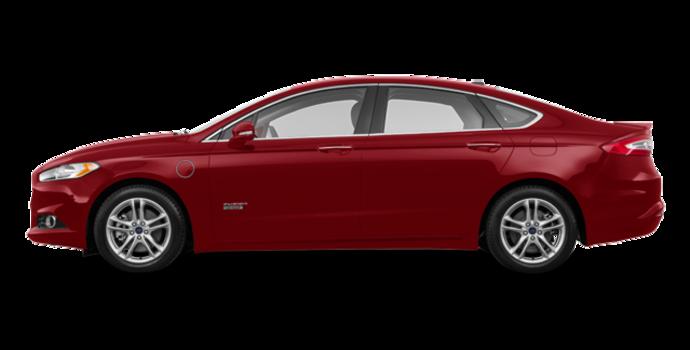 2016 Ford Fusion Energi TITANIUM | Photo 4 | Ruby Red