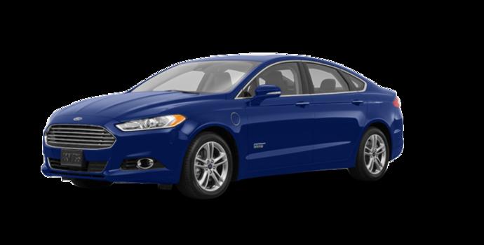 2016 Ford Fusion Energi TITANIUM | Photo 6 | Deep Impact Blue