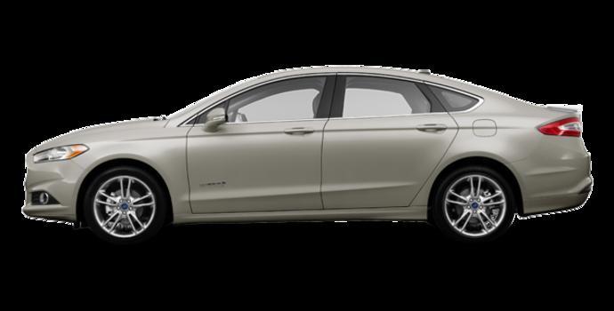 2016 Ford Fusion Hybrid TITANIUM | Photo 4 | Tectonic Silver