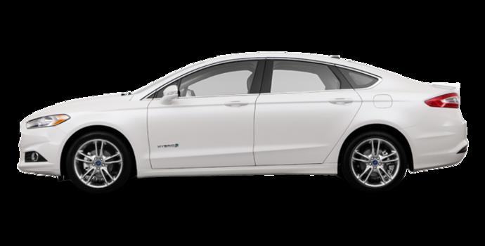 2016 Ford Fusion Hybrid TITANIUM | Photo 4 | White Platinum