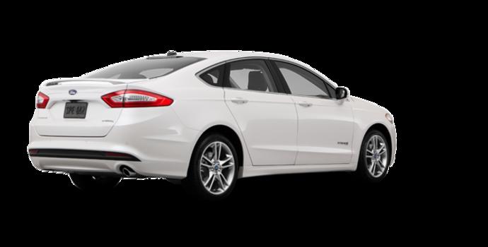 2016 Ford Fusion Hybrid TITANIUM | Photo 5 | White Platinum