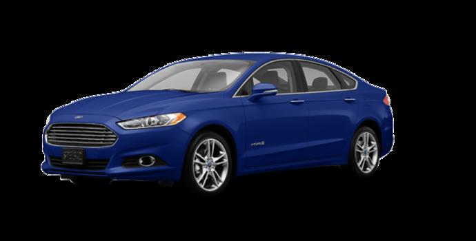 2016 Ford Fusion Hybrid TITANIUM | Photo 6 | Deep Impact Blue