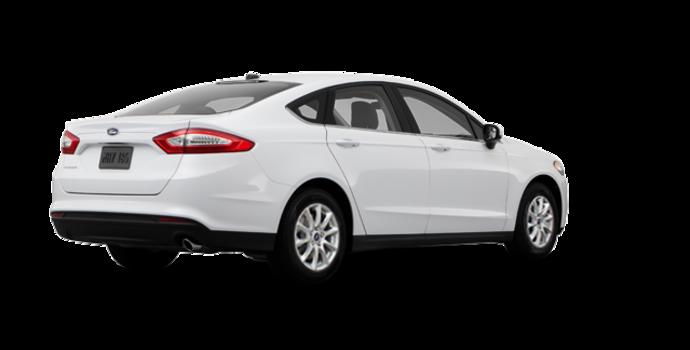 2016 Ford Fusion S | Photo 5 | Oxford White