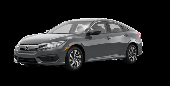 2016 Honda Civic Sedan EX-SENSING   Photo 6   Modern Steel Metallic