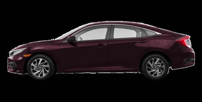 2016 Honda Civic Sedan EX | Photo 4 | Burgandy Night Pearl
