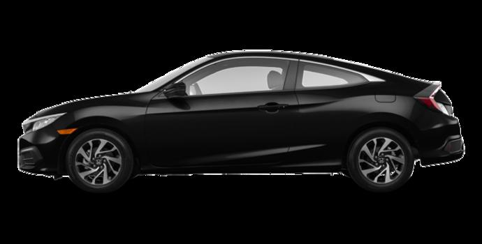 2016 Honda Civic Coupe LX | Photo 4 | Crystal Black Pearl