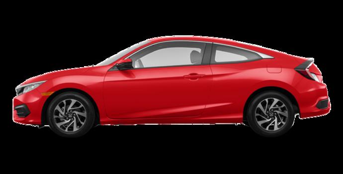 2016 Honda Civic Coupe LX | Photo 4 | Rallye Red