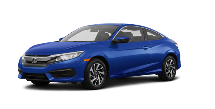 2016 Honda Civic Coupe LX | Photo 6 | Aegean Blue Metallic