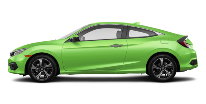 2016 Honda Civic Coupe TOURING | Photo 4 | Energy Green Pearl