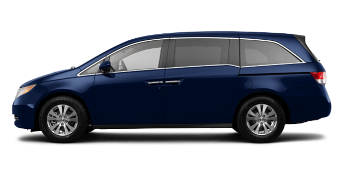 2016 Honda Odyssey EX-L RES | Photo 4 | Obsidian Blue Pearl