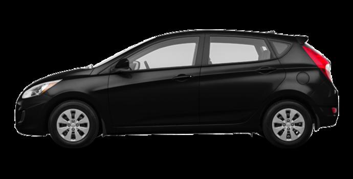 2016 Hyundai Accent 5 Doors LE   Photo 4   Ultra Black