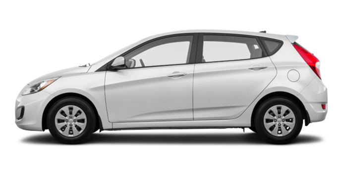 2016 Hyundai Accent 5 Doors LE   Photo 4   Century White