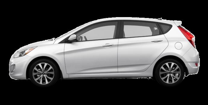 2016 Hyundai Accent 5 Doors SE | Photo 4 | Century White