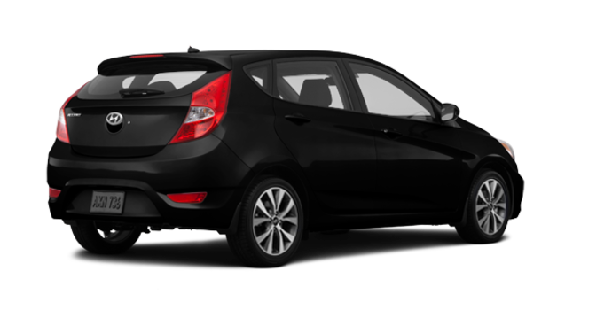 2016 Hyundai Accent 5 Doors SE | Photo 5 | Ultra Black