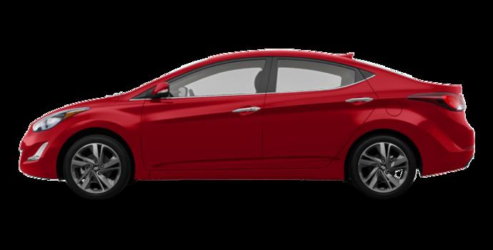2016 Hyundai Elantra LIMITED | Photo 4 | Geranium Red