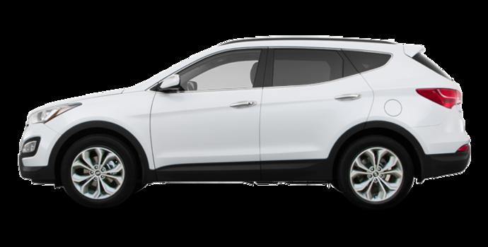 2016 Hyundai Santa Fe Sport 2.0T LIMITED | Photo 4 | Frost White Pearl