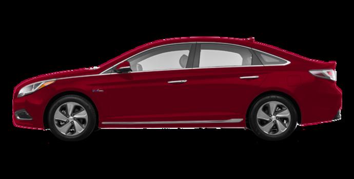 2016 Hyundai Sonata Plug-in Hybrid ULTIMATE   Photo 4   Venetian Red