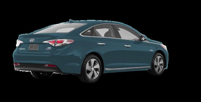 2016 Hyundai Sonata Plug-in Hybrid ULTIMATE   Photo 5   Graphite Blue